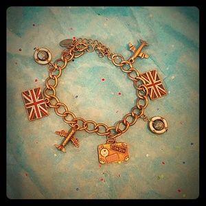 Jewelry - Travel charm bracelet
